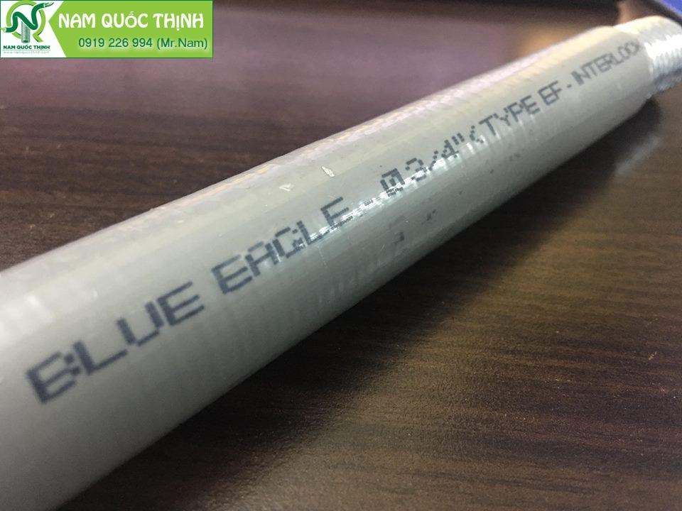 Ống ruột gà lõi thép bọc nhựa chống thấm dầu Blue Eagle cao cấp